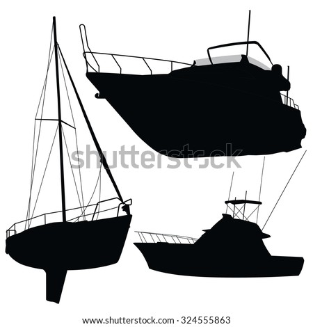 Yacht Silhouette Images - Reverse Search