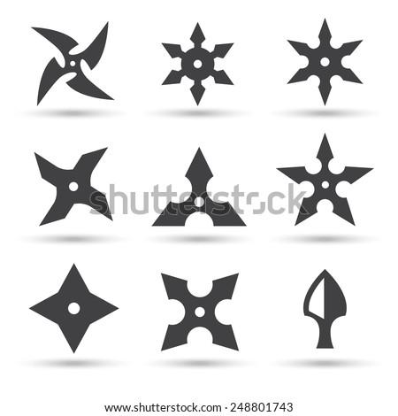 Ninja Stars Images Ninja Star Icon