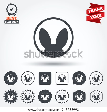 no Animals Testing Sign Icon