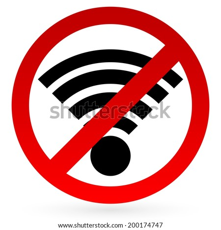 how to stop wifi signal