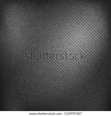 Noise effect grainy texture with corner highlight on black and dark gray background. Metal vintage grunge surface. This vector illustration clip-art design element saved in 10 eps. - stock vector