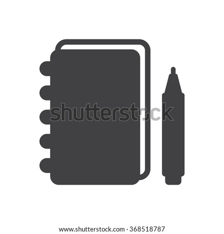notebook Icon JPG, notebook Icon Graphic, notebook Icon Picture, notebook Icon EPS, notebook Icon AI, notebook Icon JPEG, notebook Icon Art, notebook Icon, notebook Icon Vector - stock vector