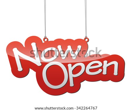 now open, red vector now open, red tag now open, background now open, illustration now open, element now open, sign now open, design now open, picture now open, now open eps10 - stock vector