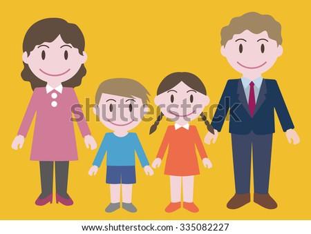 Nuclear Family Clipart Nuclear Family Stock V...