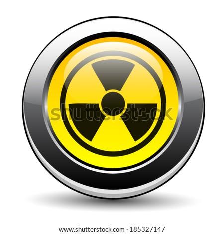 Nuclear symbol - stock vector