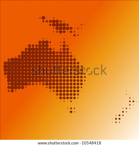 oceania dot - vector - - stock vector