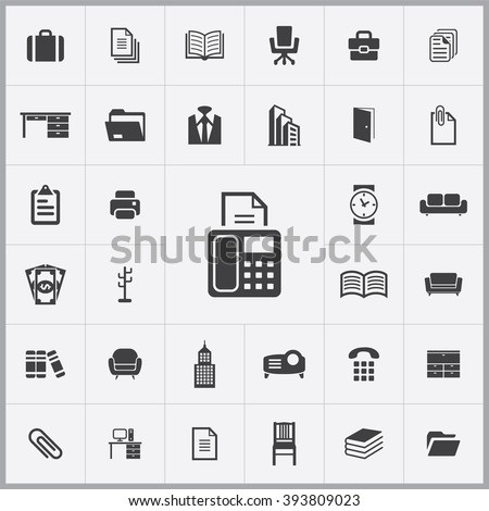 office Icon, office Icon Vector, office Icon Art, office Icon eps, office Icon Image, office Icon logo, office Icon Sign, office icon Flat, office Icon design, office icon app, office icon UI - stock vector