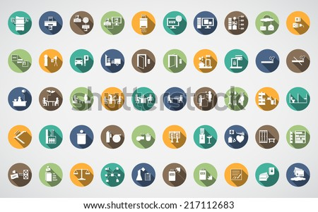 office spot icon - stock vector