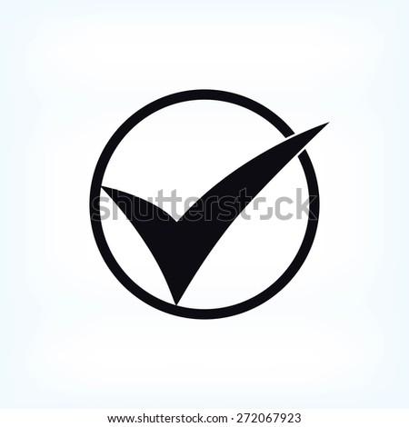 ok vector icon - stock vector