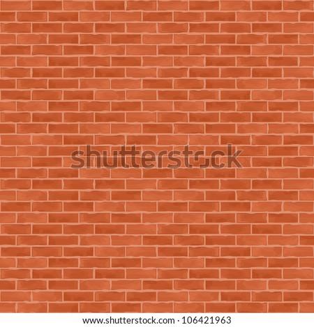 Old brick wall, vector eps10 illustration - stock vector