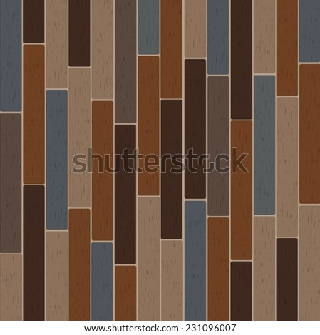 Old color wooden texture background - stock vector