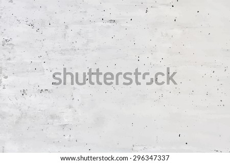 old grungy texture, concrete wall, vector - stock vector