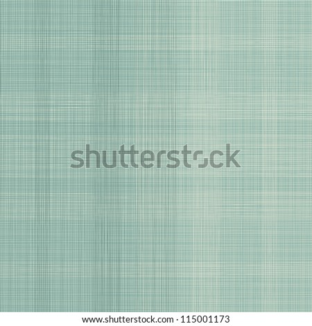 old seamless fabric texture pattern in blue - stock vector