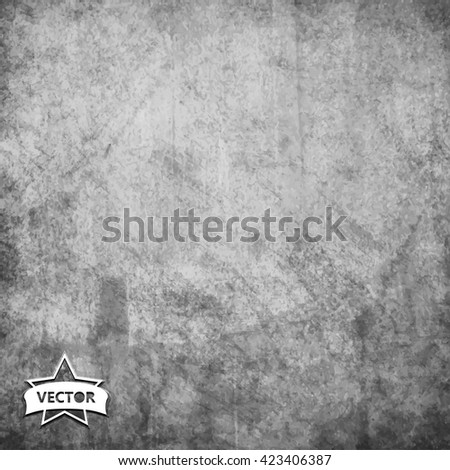 Old vintage vector background. - stock vector