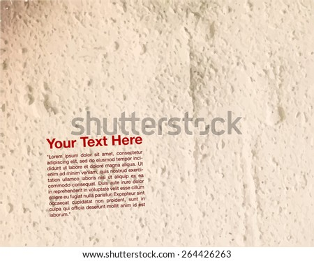 old white grunge painted texture - stock vector