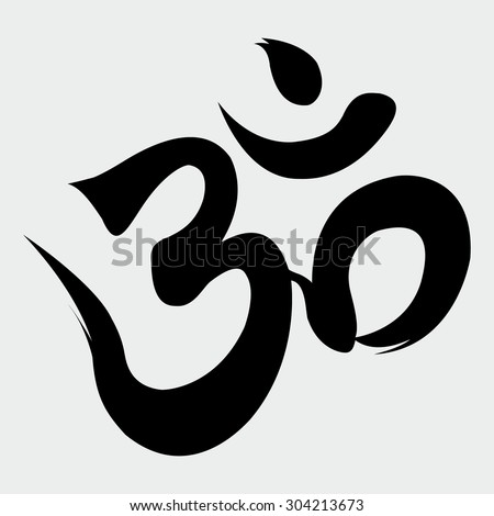 Om Sign - stock vector