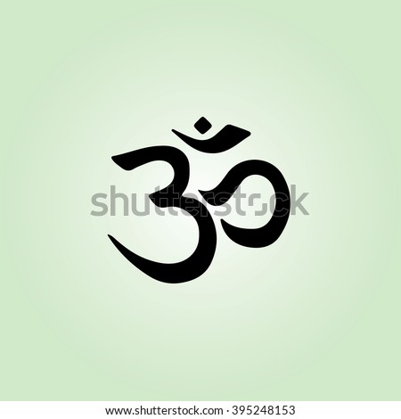 Om symbol / sign vector illustration - stock vector