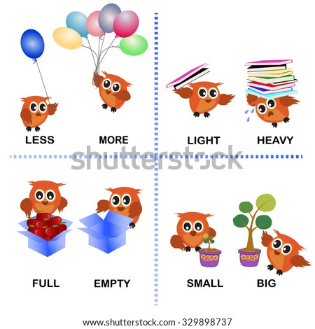 Opposites Clipart For Preschool on Home 4th Of July Worksheets For Pre