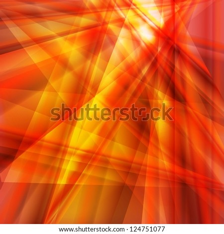 Orange and yellow abstract background vector - stock vector