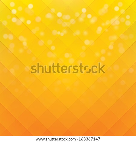 orange background. vector illustration. eps10 - stock vector