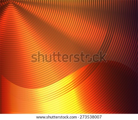 orange glow metal texture background. blazing. Abstract template for website technology computer graphic  business and internet. text box. infographics - stock vector