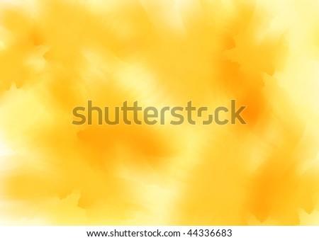 orange watercolor background - stock vector