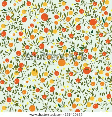 Orange Fruit Pattern Stock Photos, Images, & Pictures ...