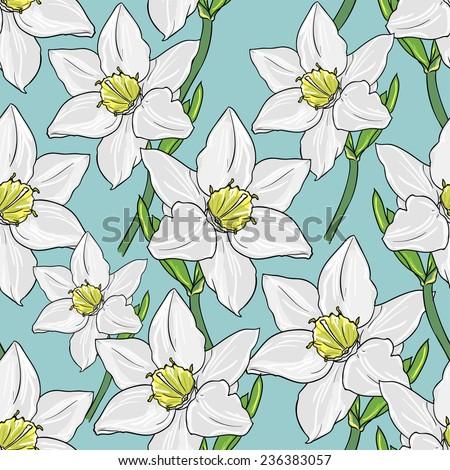 orchid vector illustration - stock vector