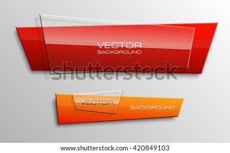 Origami colorful banners set. Web banner. Banner vector. Web banner designs. Web banner template. Banner design. Banner template. Banner background. Paper banner. Abstract banner. Advertising banner - stock vector