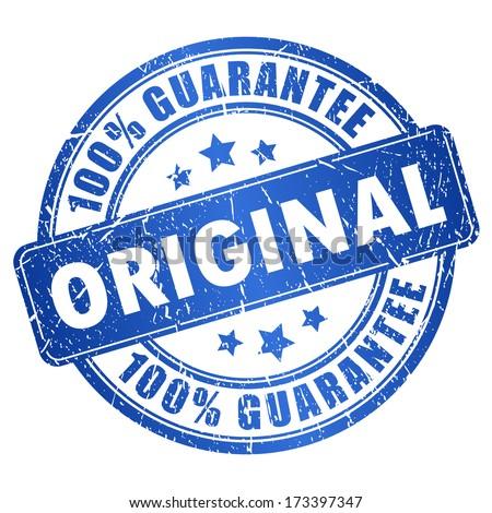 Original vector grunge stamp - stock vector