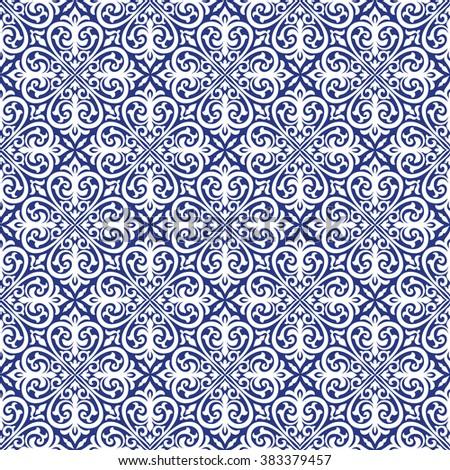 Ornament illustration pattern - stock vector