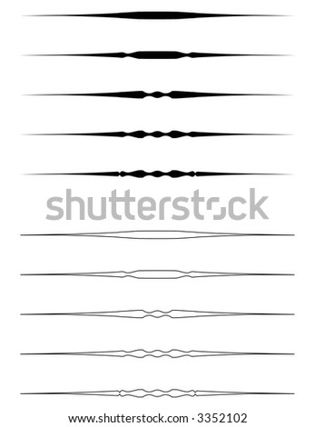 ornament rules background - stock vector