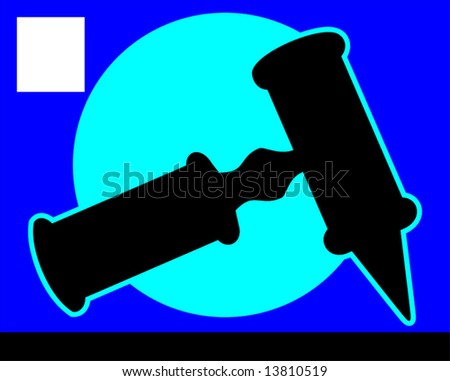 otoscope using by ENT specialist - stock vector