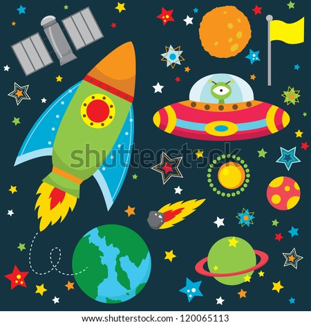 Outer space stock photos images pictures shutterstock for Outer space design