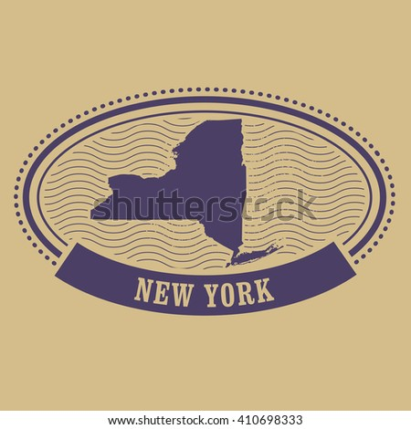 New York State Map Stock Photos Images Amp Pictures