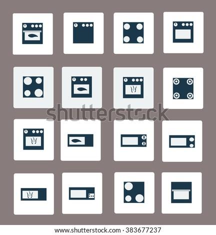 oven - stock vector