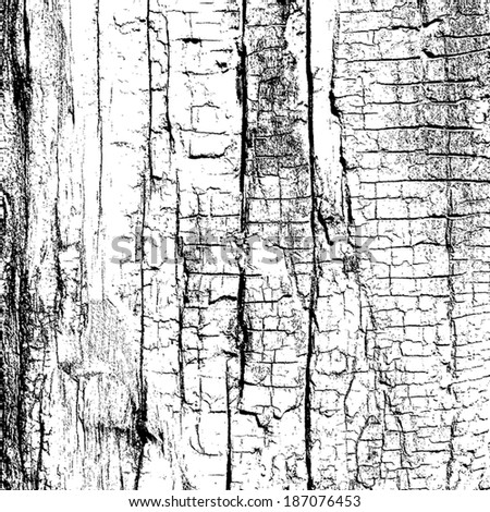 Overlay Texture - Dry Wood, for your design. EPS10 vector. - stock vector