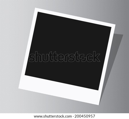 Page of textures photo album - stock vector