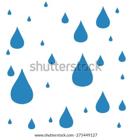 Paint Ink Drops waterdrops Vector EPS 10 illustration. - stock vector