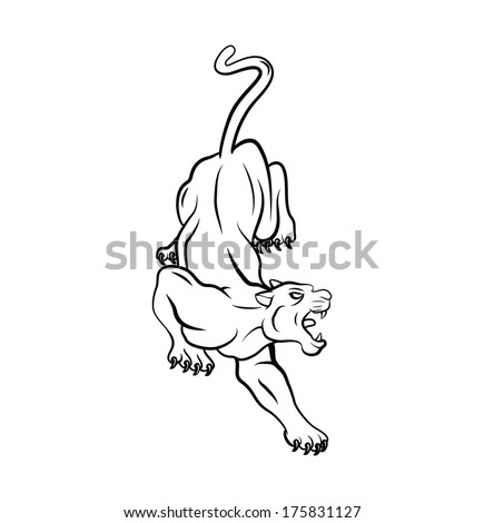 Panther Stock Photos, Illustrations, and Vector Art