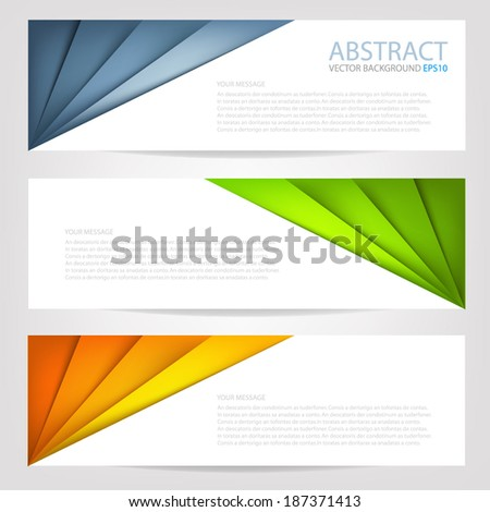 paper background origami on white background multi colorful overlap texture and pattern dimension vector illustration message board for text and message design modern website - stock vector