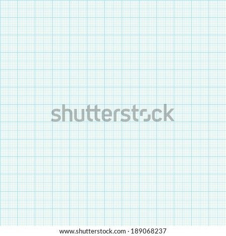 Paper Graph Grid seamless pattern vector background - stock vector