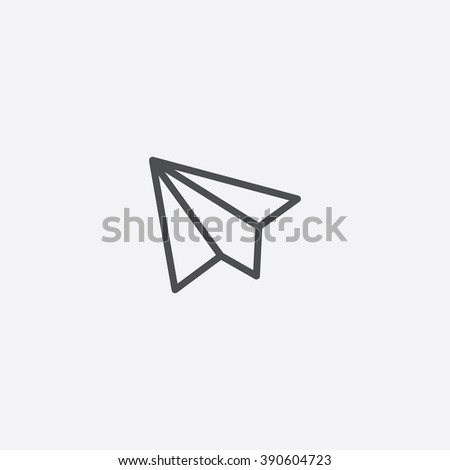 paper plane Icon, paper plane Icon Vector, paper plane Icon Art, paper plane Icon eps, paper plane Icon Image, paper plane Icon logo, paper plane Icon Sign, paper plane icon Flat, paper plane Icon web - stock vector