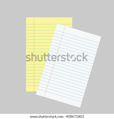Paper sheet design, vector illustration eps 10. - stock vector