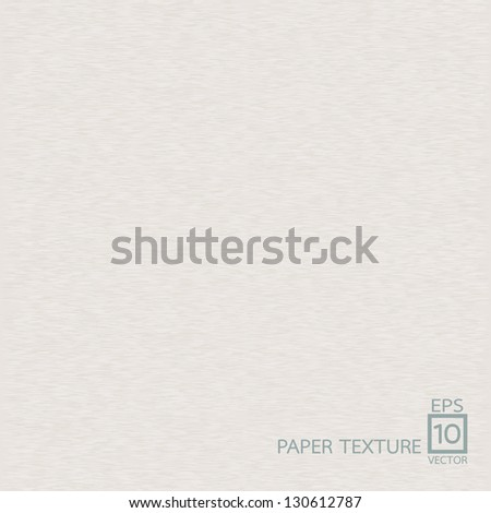 Paper texture background - stock vector