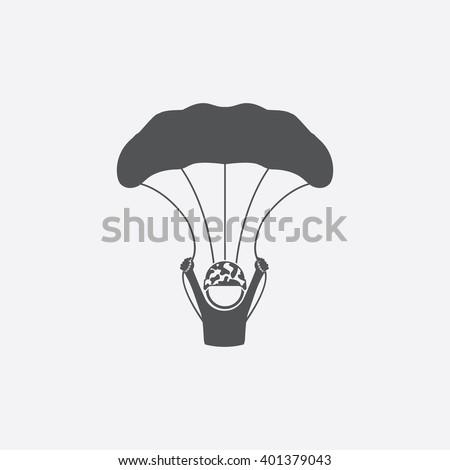 Paratrooper icon. Paratrooper icon vector. Paratrooper icon simple. Paratrooper icon app. Paratrooper icon new. Paratrooper icon logo. Paratrooper icon sign. Paratrooper icon ui.Paratrooper icon draw. - stock vector