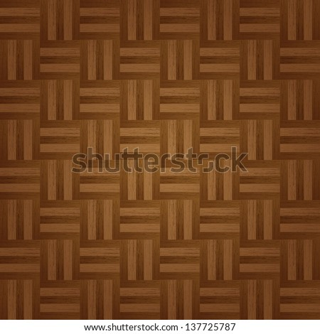 Parquet background - stock vector