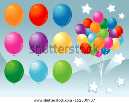 party and celebration invitation banner card - stock vector