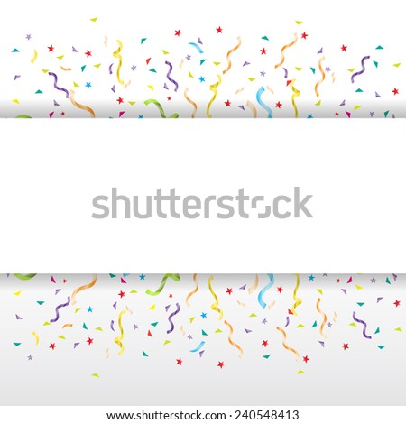 party background, can be add text  - stock vector