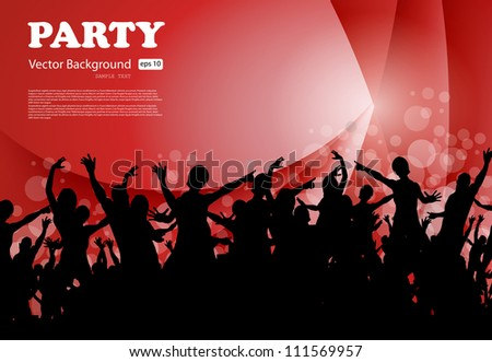 Party Background, Vector EPS10 - stock vector